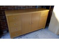 Next solid beech large sideboard, £130 no offers