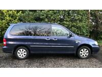 CHEAP AUTOMATIC DIESEL 7 SEATER KIA SEDONA 2.0L (2006) Full year mot