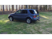 2005 Mercedes ml270 cdi Special edition