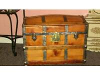 Chest /trunk storage box antique