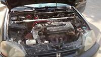 Honda civic cx hb 1997 swap gsr tranny type r