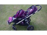 Baby Jogger City Select double pram system