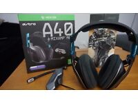 Astro A40 - Xbox One Headphones with Mixamp M80 - Halo Edition - Boxed