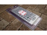 Extra large TV remote control