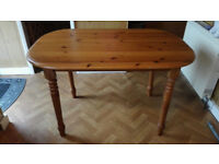 As New Wooden Dining Table and 4 chairs Great Condition Bargain!