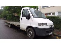 Peugeot 2.5 diesel Rohill Recovery Truck super Lightweight Twin Axle