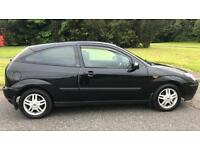 FORD FOCUS 3 DOOR 1.6L (2002) year mot low miles, some modifications