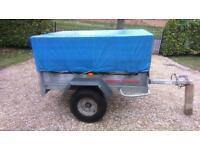 Daxara 147 tipping trailer + high top / cover