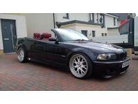 2004 BMW M3 3.2 CONVERTIBLE FSH E46 MANUAL gearbox new mot