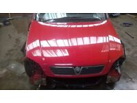 vauxhall astra mk4 front bumper 02 bright red