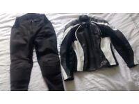 Ladies Frank Thomas motorbike leathers