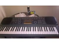 Casio midi keyboard with psu model CTK -601