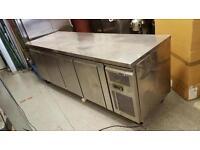 Commercial catering 4 doors counter fridge