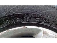 Wolkswagon Touareg alloy wheels with tyres