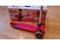 Mini Micro scooter - Pink - Good condition