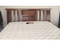 Super kingsize Bed with mattress