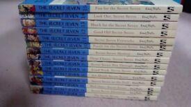 Set of 15 Secret Seven Books by Enid Blyton - super children's books in great condition