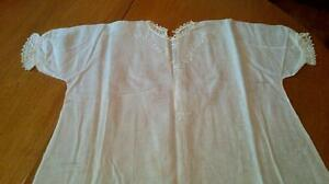 Antique cotton and lace christening gowns West Island Greater Montréal image 5