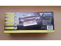 TEXET A4 LAMINATOR & LAMINATING POUCHES