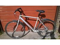 Raleigh Pioneer Urban Hybrid Bike (seller Bearsden / Milngavie / Glasgow)