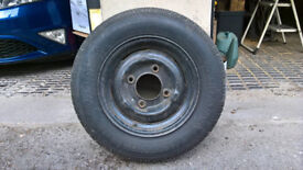 Spare wheel and tyre for caravan - never used