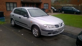 NISSAN ALMERA 1.5 PETROL, 139,000 MILES, 6 MONTHS MOT, GOOD CONDITION