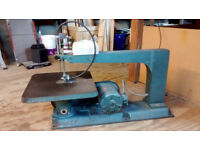 Meddings Scroll Saw, serious piece of industrial kit!