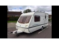 Abbey Adventura 2 berth caravan top of the range in excellent condition