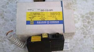Square D Circuit Breaker with GFI
