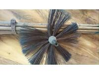 Antique cimney sweeps brush
