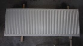 Double wall radiator 1600mm x 60mm. £50