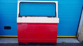 VW T25 CAMPER SLIDING DOOR - EARLY LARGE HANDEL - AIRCOOLED T3