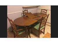 Full extendable dining room table