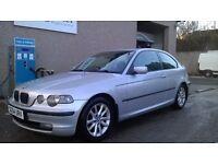 2004 BMW E46 1.8 316ti ES COMPACT NEW MOT