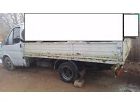 Left hand drive FORD TRANSIT PICK UP Lwb