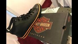 Harley Davidson Nathan boots size 11