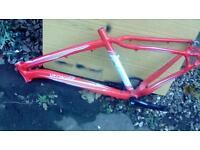 Specailzed rockhopper 17 inch bare cycle bike frame