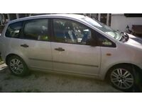 FORD FOCUS CMAX 1.6 DIESEL CHEAP TO RUN AND TAX EXCELLENT FAMILY CAR