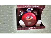 M & M alarm clock