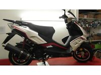 LEXMOTO FMR 125 Red/White Electric and Kick Start