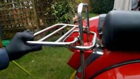 Vespa px or lml rear rack folding