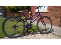 Raleigh Max Ladies Mountain Bike..Clean and with Gears and Brakes in Full Working Order.Good Bargain