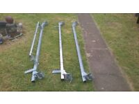 TRANSIT VAN ROOF BARS WITH ROLLER BAR