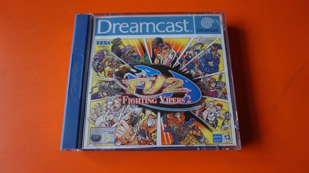 DREAMCAST FIGHTING VIPERS 2 PAL MINT CONDITION  | in Blyth, Northumberland  | Gumtree