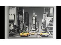 Framed New York City picture