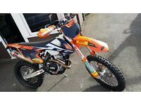 Ktm exc-f 350 2017 for SALE or PX not crf , kxf
