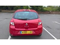 2009 RENAULT CLIO 1.2 DRIVES SUPERB WITH LONG MOT