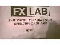 LASER..FX LAB PROFESSIONAL LASER SYSTEM DIFFRACTION COMBO LASER