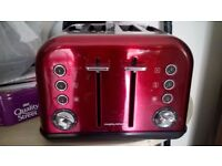 Red Double Toaster