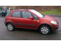 SUZUKI SX4, FULL MAIN DEALER HISTORY 8 STAMPS, AA MECHANICAL REPORT, 3 MONTHS WARRANTY